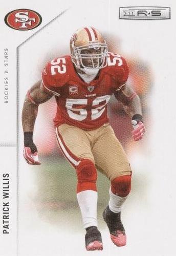 2011 rookies & stars patrick willis san francisco 49ers