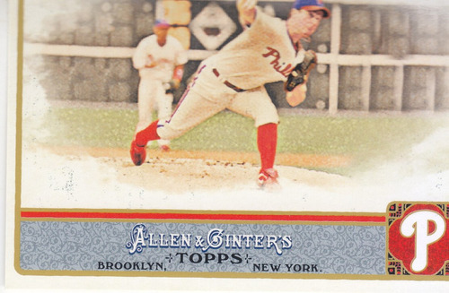 2011 topps allen & ginter's roy oswalt phillies