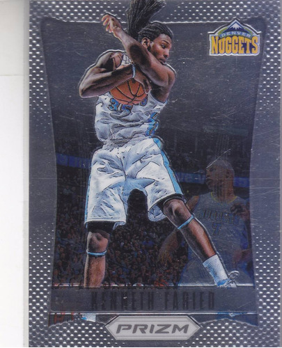 2012-13 panini prizm rookie kenneth faried nuggets