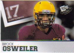 2012 press pass #36 brock osweiler