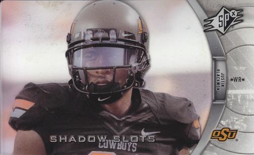 2012 spx shadow slots rookie justin blakmon jb-1 jaguars