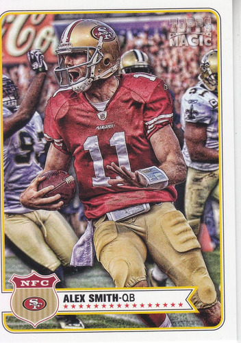 2012 topps magic alex smith qb sf 49ers