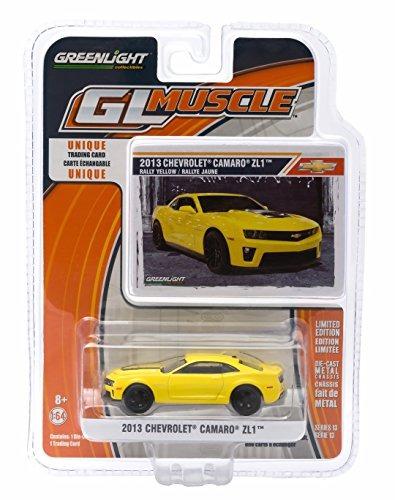 2013 Chevrolet Camaro Zl1 (rally Amarelo) * Gl Muscle Série