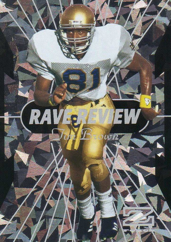 2013 fleer retro z- force rave review tim brown raiders wr