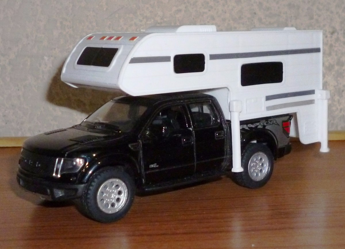 2013 Ford F 150 Svt Raptor Camper Escala 1 46 Camioneta 15000 With S Cargando Zoom