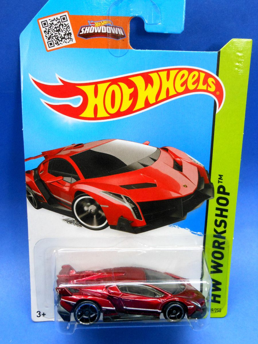 2013 hot wheels hw lamborghini veneno rojo hw workshop en mercado l. Black Bedroom Furniture Sets. Home Design Ideas