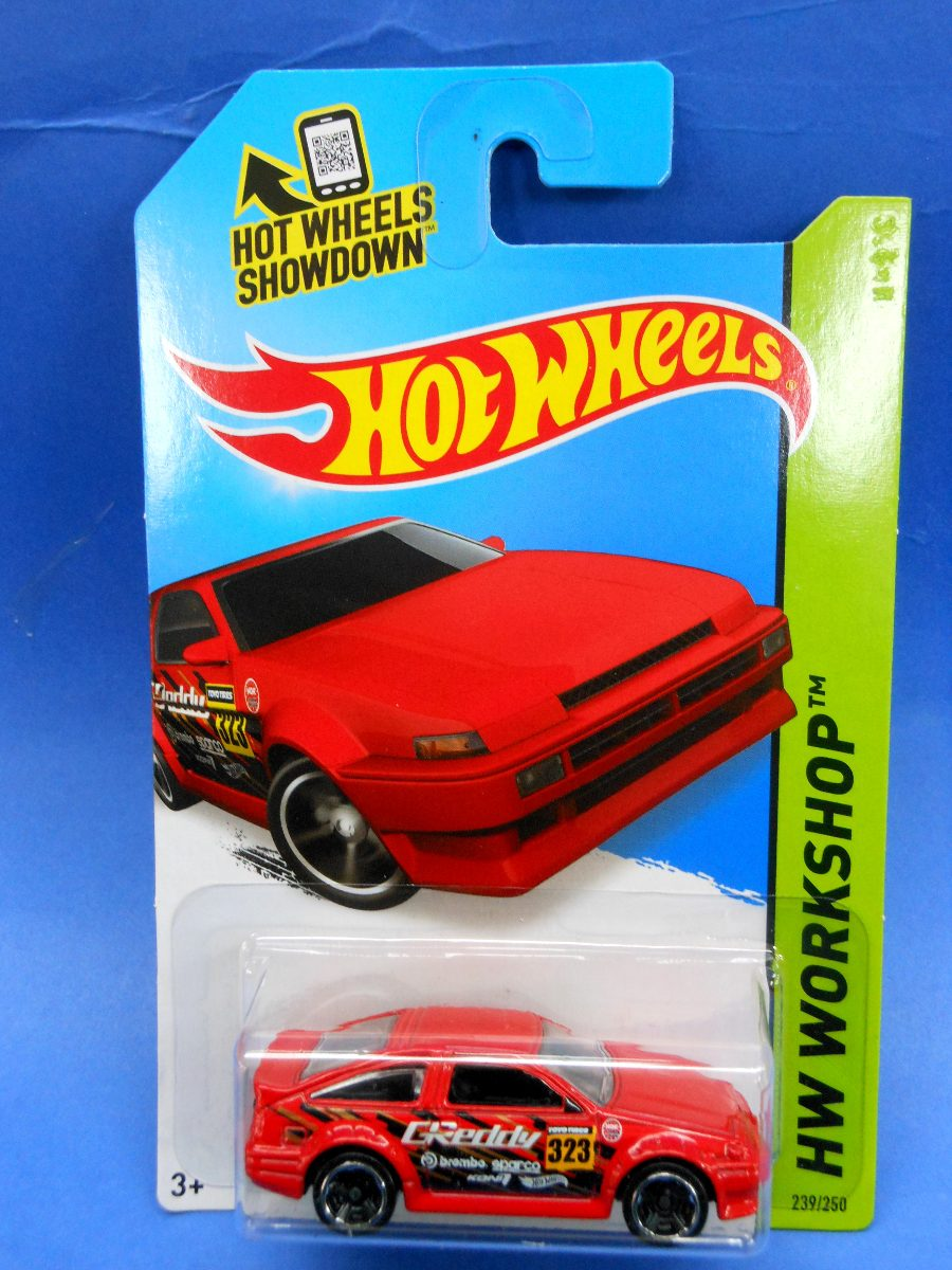 2013 Hot Wheels Toyota Ae 86 Corolla Rojo Workshop 3500 En Hotwheels Red Cargando Zoom