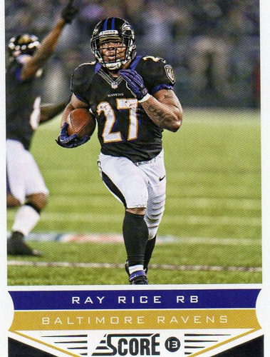 2013 score ray rice baltimore ravens