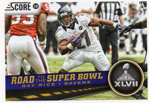 2013 score road to the super bowl ray rice ravens