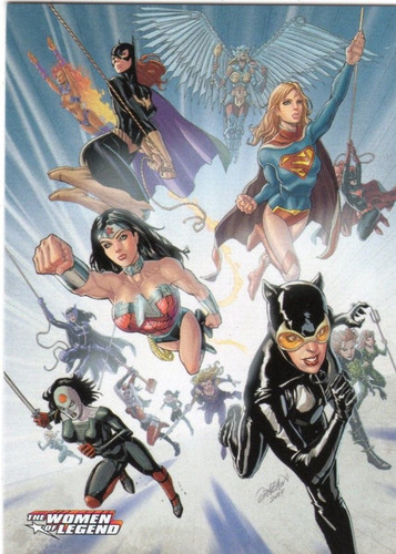 2013 women of legend dc set base 63 tarjetas