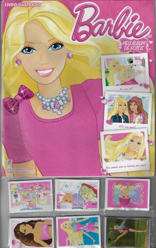 2014 álbum de figurinhas barbie meu álbum de fotos completo