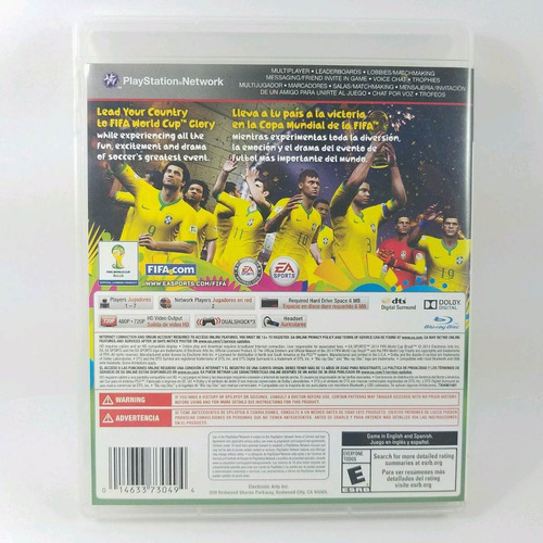 2014 fifa world cup brazil ps3 envio gratis