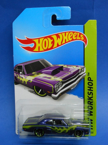 2014 hot wheels ´69 dodge cooronet superbee hw workshop
