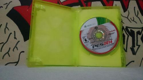2014 pes xbox 360 pro evolution soccer