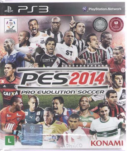 2014 ps3 jogo pes