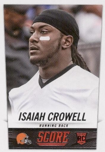 2014 score isaiah crowell rookie browns