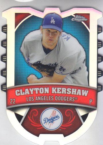 2014 topps chrome connect refractor clayton kershaw dodgers