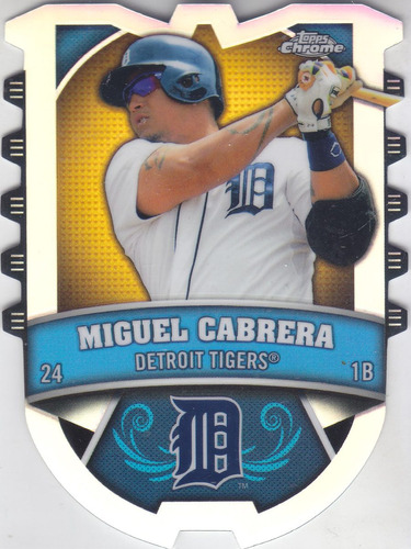 2014 topps chrome connect refractor miguel cabrera tigers