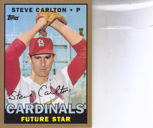 2014 topps future star that never were gold steve carlton