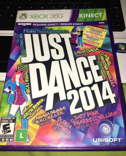2014 xbox 360 just dance