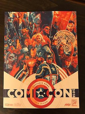 2015, 16, 17 san diego comic con international souvenir book