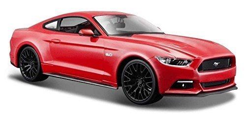 2015 ford mustang gt 5.0 rojo 1/24 modelo de coche de escal