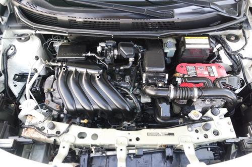 2015 nissan versa sense 4 cilindros como nuevo