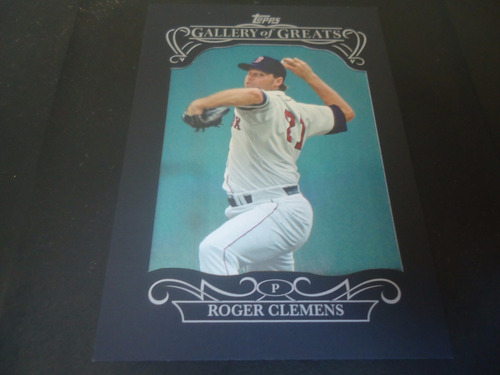 2015 topps gallery of greats #gg-8 roger clemens p red sox