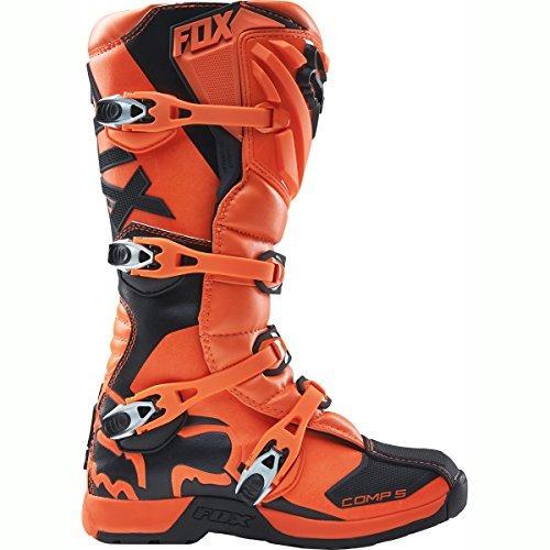 2016 fox racing mens comp 5 botas (11, naranja)