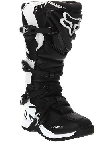 2016 fox racing mens comp 5 botas (11, negro) + envio gratis