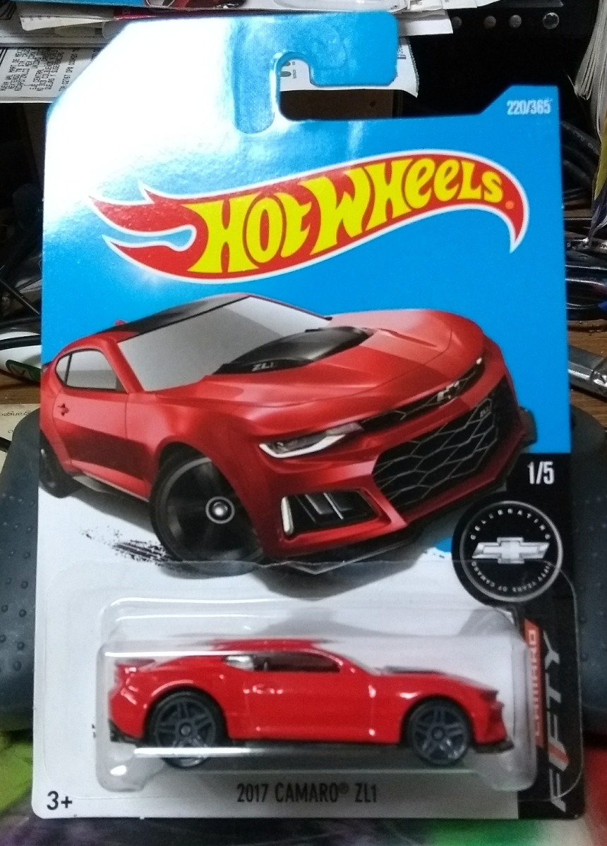 2016 Hot Wheels 2017 Camaro Zl1 Camaro Fifty 1 5 60 00