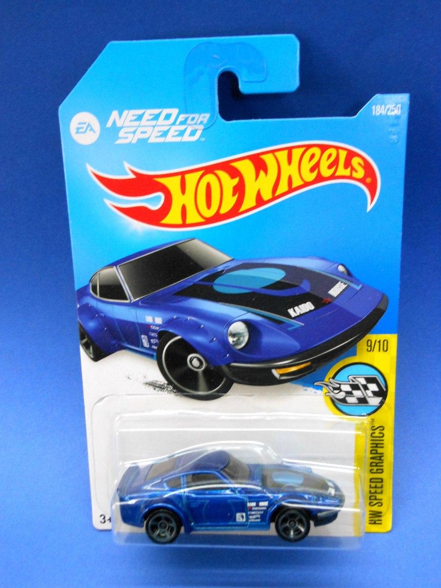Nissan Fairlady Z >> 2016 Hot Wheels Nissan Fairlady Z Need For Speed Hw - $ 70.00 en Mercado Libre