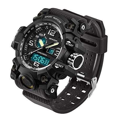 2016 Nueva Marca Sanda Reloj Moda Hombres G Estilo Impermea -   117.990 en  Mercado Libre e89fc9473d78