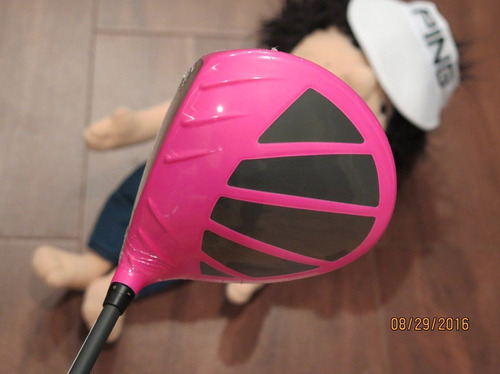 2016 ping g limited edition bubba watson pink driver 10.5 re