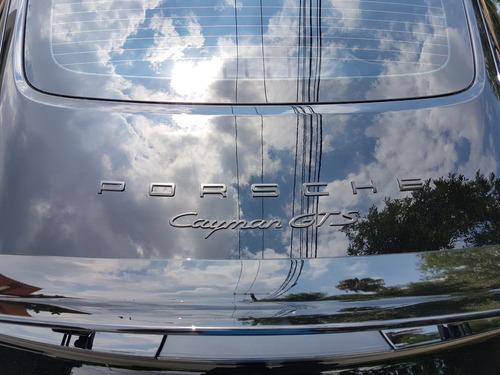 2016 porsche cayman gts 3.4l pdk v6