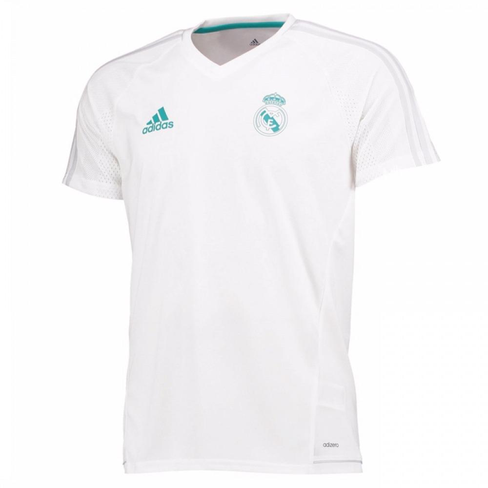 2017-2018 Real Madrid adidas Camiseta De Entrenamiento (blan ... 42ebc8fd71290