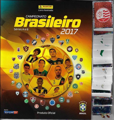 2017 álbum campeonato brasileiro panini vazio + 10 especiais