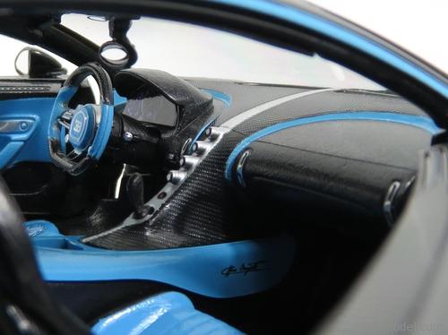 2017 bugatti chiron 42 black limited edition 1/18, nuevo¡¡