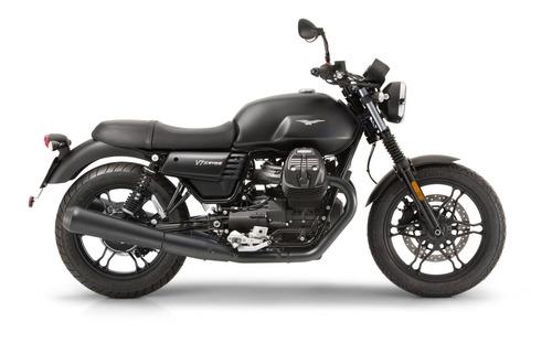 2017 moto guzzi v7 iii stone negra