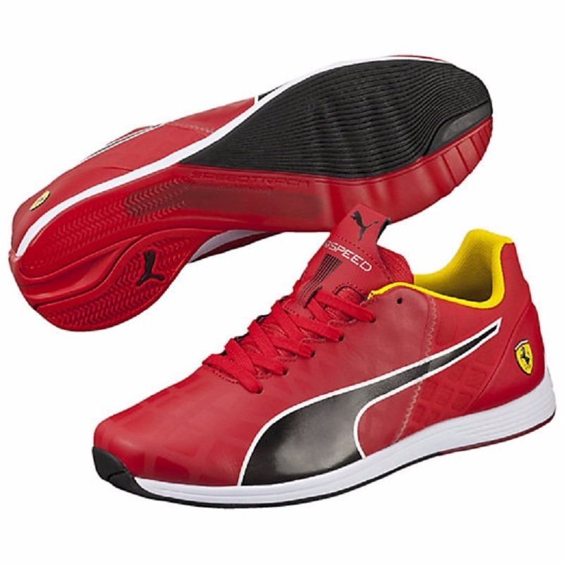 bded145a4cd 2017 tenis puma evospeed 1.4 scuderia ferrari rojo y negro. Cargando zoom.
