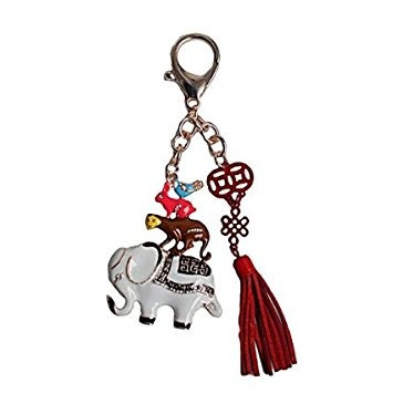2017 year of rooster feng shui: friendship amulet keychain