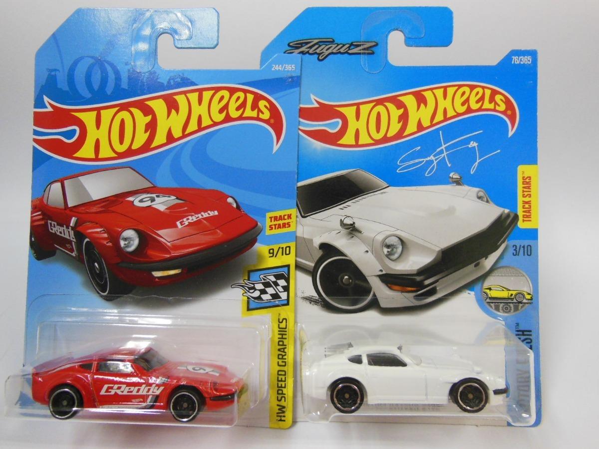 Hot Wheels Fairlady 2000 velocidad de la tarjeta de gráficos 3//10 Corto Negro