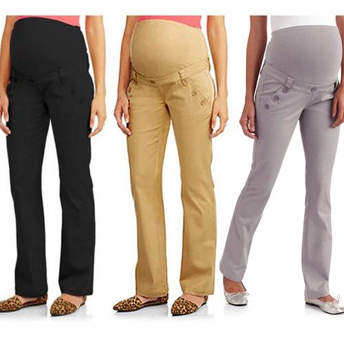 2018 nuevo casual pantalones de maternidad para el embarazo