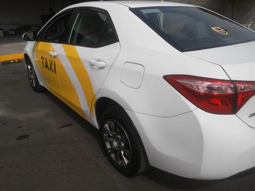 2018 toyota corolla taxi