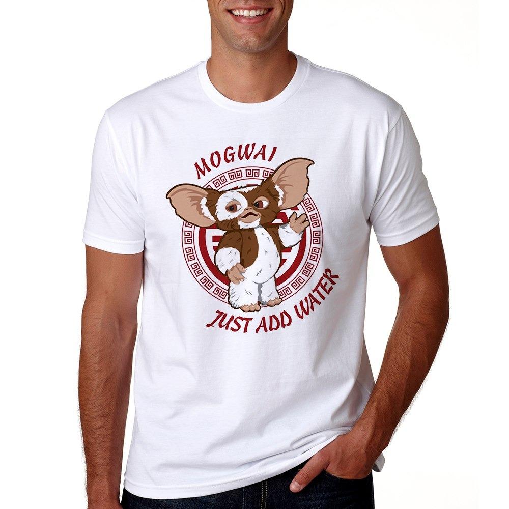 Verano Hombres O 2018 Gremlins Gizmo Camiseta Cuello Casual 4R3L5Aj