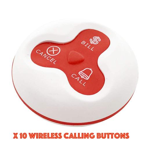 2019 los clientes wireless sistema de llamada botones de lla