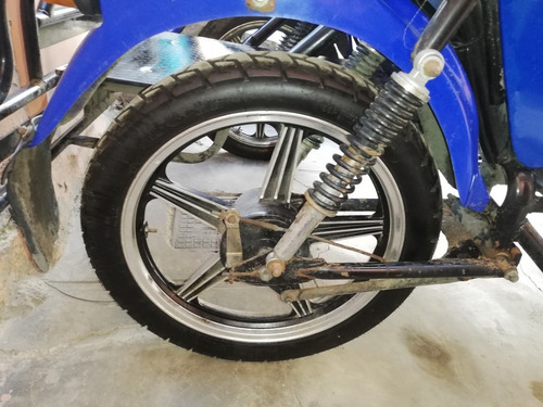 2019 solo 700km de cadena tres rueda