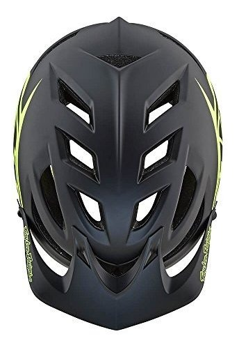 Black//Flo Yellow Troy Lee Designs A1 Drone Bicycle Helmet