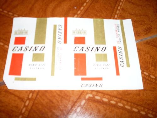 #202 - marquilla casino de venezuela. aprox. dec.70