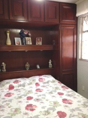202 - santos - embaré - 02 dormitórios próximo praia
